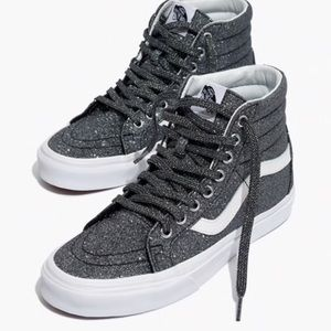 Madewell X Vans | Glitter Sk8 Hi Sneakers